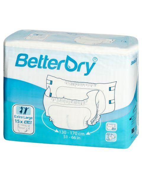 BetterDry - Extra Large - Pack of 15