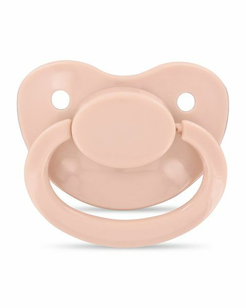 Adult Dusty Pink Dummy/Pacifier