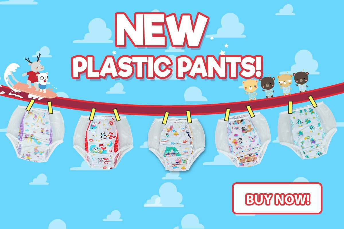 New Plastic Pants Now Available